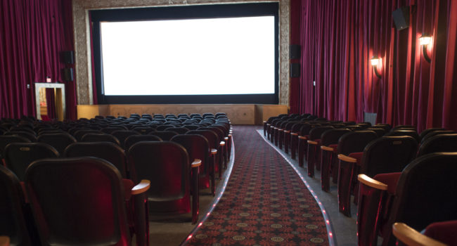 Custom Screen Solutions for Belcourt Theatre