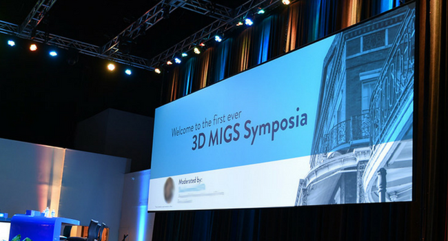 Image Critical 3D Screen for Ophthalmology Conference