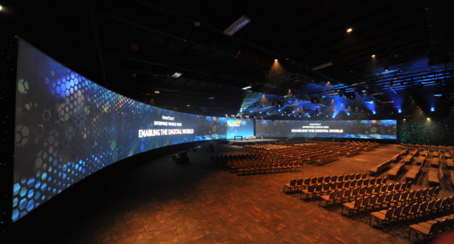120' curved Northview 1.0+  Matte White Screen with Black Backing